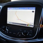 The interior of the full size Holden Commodore rental vehicle features a colour touch screen that lets you navigate the climate control and satellite navigation in some models.